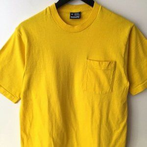 90s Vintage Honors Pocket Tee Shirt USA Medium